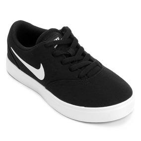 Tenis Nike Sb Check Canvas Skate Board Casuales