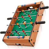 Pebolim Totó Futebol De Mesa 10x31x51cm 12 Jogadores 2 Bolas