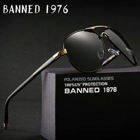 2018 Hd Polarized Uv 400 Óculos De Sol Da Marca Banned 1976 9361ba7061