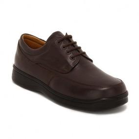 Zapatos Clinicus 1313 Caballero Caf Neg Diabetes Ancho Doble