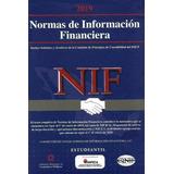 Libro Normas De Información Financiera Nif 2019 Imcp