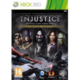 Injustice Ultimate Edition Para Xbox 360 Nuevo