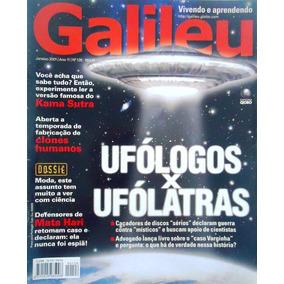 Revista Galileu #126 - Janeiro 2001 - Ufólogos X Ufólatras