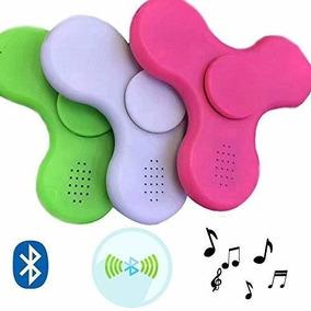 Fidget Hand Spinner Anti Stress Leds Bluetooth Kit C/3