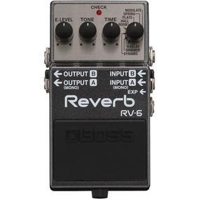 Pedal Digital Reverb Boss Rv-6 Para Guitarra.