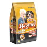 Ração Magnus Todo Dia Para Cães Adultos 15kg + Brinde