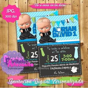 Kit Imprimible Jefe En Pañales, Baby Boss, Bebe Jefazo Pdf