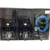c2911fc80b7 Caixa Luz Padrao Eletropaulo 3 Relogios Visor Rua - Energia Elétrica ...