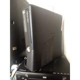 Xbox 360 Slim 500 Gb C/kinect Sin Control Y 2 Juegos Y Envio