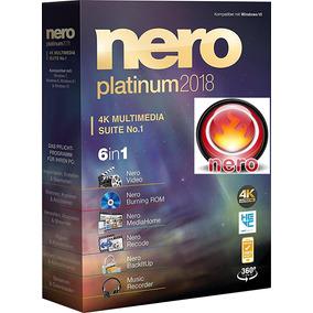 Programa Nero 2018 Platinum 32 Bits Y 64 Bits