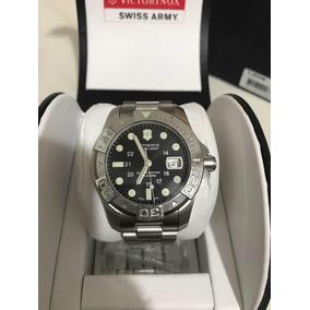 07c41ef2752 Relógio Zodiac V Wolf Diver Green Swiss Made Mesh 300m - Relógios no ...