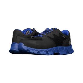 Calzado Industrial Timberland Ti0654 Negro Azul
