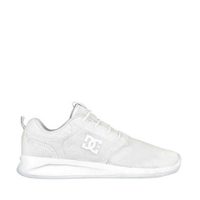 Tenis Bonito Casual dc Shoes Color Blanco Textil Up840