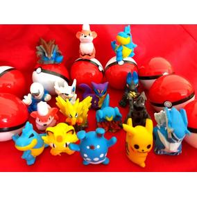 Pokémon Na Pokebola 100 Unid Kit Festa E Brinde Infantil