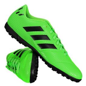 Chuteira adidas Nemeziz Messi Tango 18.4 Tf Society Verde por Futfanatics a1765d092a221