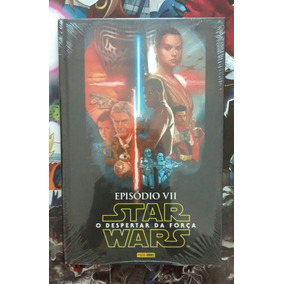 Star Wars Episódio Vii Despertar Da Força Capa Dura