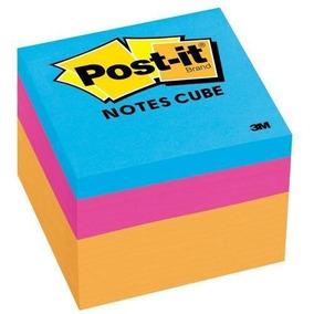 Minicubo Notas Adhesivas 3m Post-it Colores Surtidos 5x5 Cm