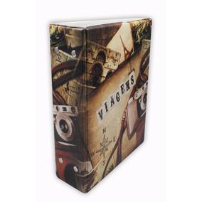 Album Fotografico Viagens P/ 500 Fotos 10x15 97760 Promoção
