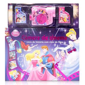Livro - Princesas Disney - Câmera De Cinema - Dcl
