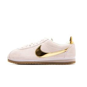 Tênis Nike Classic Cortez Dourado Corrida Feminino Original! 7061ac4e0ccbd