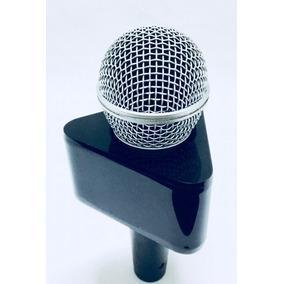 Canopla Em Acrilico Para Microfone, Repórter !