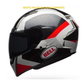Capacete Bell Qualifier Dlx Mips Acceler Red Black 56/58/60/
