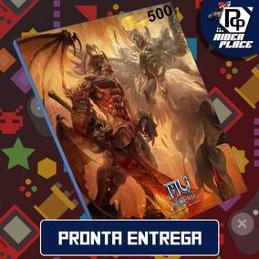 Cartão Mu Legend 500 Redzen 500rd E-prepag- Pronta Entrega !