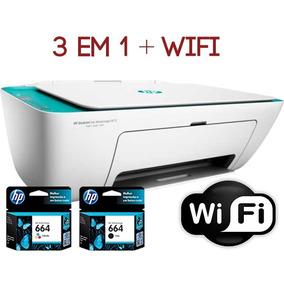 Impressora 3 Em 1 Hp 2675 Frete Grátis Cartucho Gratis Wifi