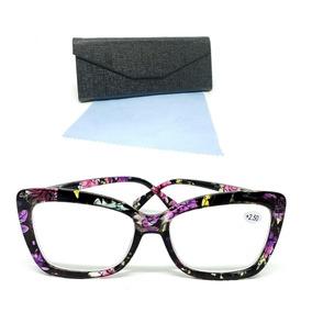 3494942fe Oculo Descanso Grau Feminino - Óculos Violeta no Mercado Livre Brasil