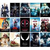 Poster De Cine Toy Story Spiderman Venom Glass Como Entrenar