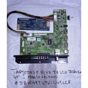 Tarjeta De Video Para Tv Toshiba Led 43 43l420u