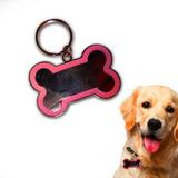 Placa Chapa Mediana Identificador Mascota Perro + Grabacion