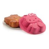 Molde De Silicón Hello Kitty Tupperware Cap. 1 Litro