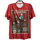 Camiseta Twin Peaks Archer David Lynch Retrô Vintage Cult 01 e297ab4a00f57