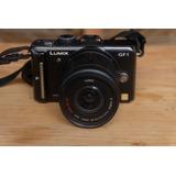 Cámara Profesional Mirrorless Panasonic Lumix Gf1 14-42mm