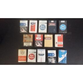 14 Paquetes De Cigarrillos Llenos P/ Coleccionar Nac Y Extra