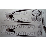 Adesivo Bicicleta Canadian X-terra Branco Frete Grátis