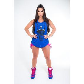 Kit Divas Bota New Botinha Treino + Regatão Fitness Original