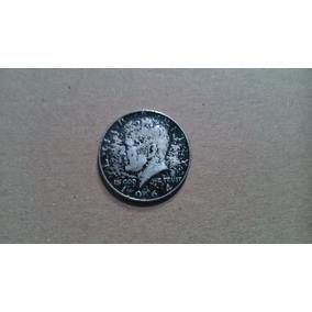 Moeda Half Dollar - 1964 - Kennedy - Prata - Usa