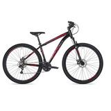 Bicicleta Aro 29 Ox Glide Preto/vermelho 17 Pedivela Shimano