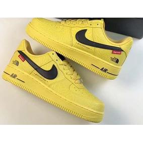 Zapatos Nike Force One Af1 X Supreme Amarillo