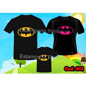 Tal Pai Tal Mãe Tal Filho(a) Batman C 3 Kit Camiseta 43deb61a8cf