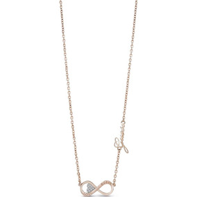 Collar Endless Love Oro Rosa Guess Jewellery
