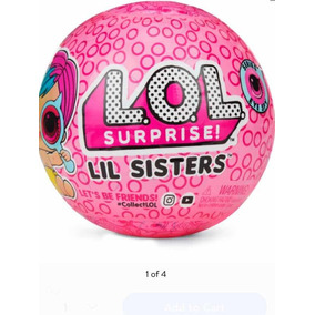 L.o.l. Surprise! Eye Spy Lil Sisters Doll 4-2