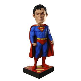 Estatueta Head Knocker Superman Clássico