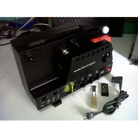 Minolta Sound 6000 + Equipo De Edición De Películas Super8