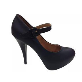 Zapato Stiletto Negro Pulsera - Stilletos de Mujer en Mercado Libre ... d7c197a7bb7