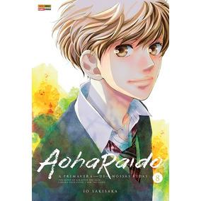 Mangá Aoharaido - Volume 8 Novo E Lacrado - Panini
