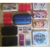 Nintendo 3ds + Juegos + R4 + Estuches + Sd + Accesorios