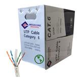 Cable De Red Utp Cat6 Caja 305mt 23awg 30%cobre Calidad